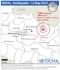 npl eq reference map 12 may. unocha 200
